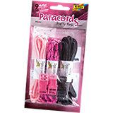 Paracords Pretty Pink, 9 m & Zubehör