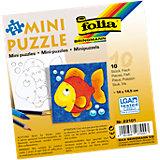 Partypack Motiv-Puzzle Fisch, 10 x 21 Teile