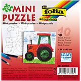 Partypack Motiv-Puzzle Traktor, 10 x 20 Teile