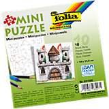 Partypack Motiv-Puzzle Burg, 10 x 25 Teile