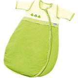 Schlafsack Bubou, Frosch, weiß/grün