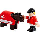 BRIO 33793 Pferd mit Reiter