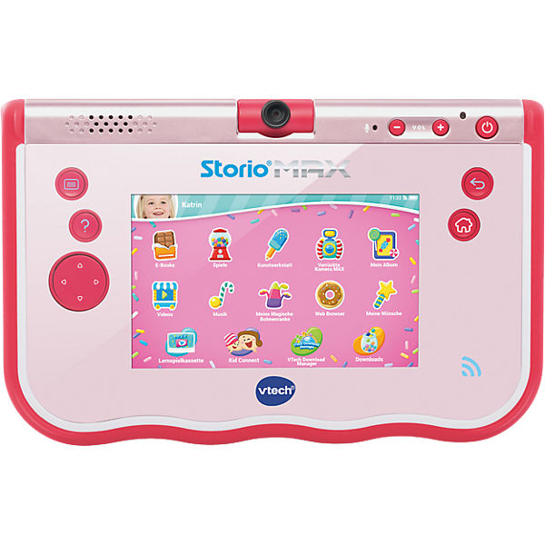 Storio Max 5 Quot Pink Vtech Mytoys