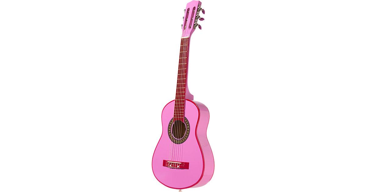 iGirl Holzgitarre in pink inkl. Sticker, 75 cm GSW 7571