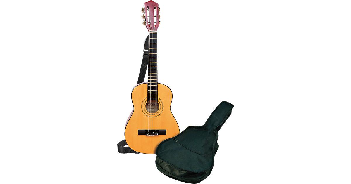 Klassische Holzgitarre, 75 cm, inkl. Tragetasche