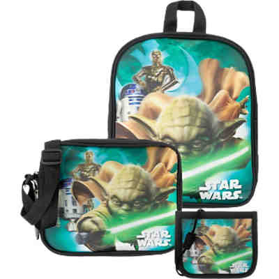 Kinderrucksackset Star Wars, 4-tlg.