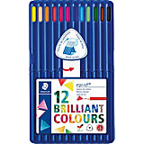 Aquarellfarbstifte ergosoft, 2 x 12 Farben, inkl. Aufstellbox