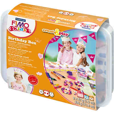 FIMO kids Create & Play Birthday Box Prinzessin