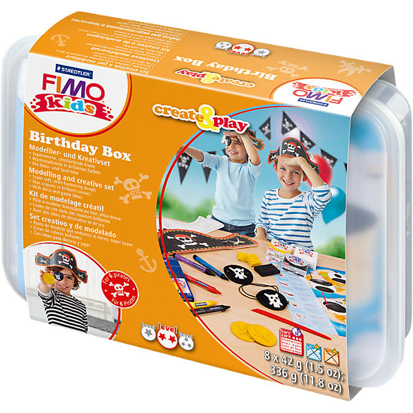 FIMO kids Create & Play Partypack Pirat