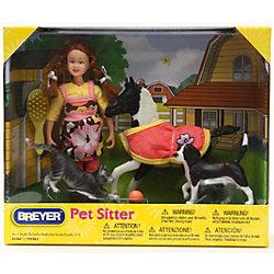 """Набор """"Кукла Лора с домашними животными"""" , Breyer"""