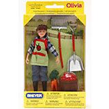 """Набор """"Кукла Оливия с садовыми аксессуарами"""", Breyer"""