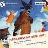 Große Musik für kleine Hörer: Eine musikalische Schlittenfahrt, 1 Audio-CD