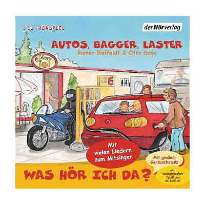 Was hör ich da? Autos, Bagger, Laster, Audio-CD