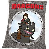 Kuscheldecke Dragons, 125x150 cm