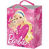 """Подарочный пакет """"Барби"""" 23*18*10 см"""