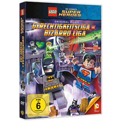 DVD LEGO: Justice League vs. Bizarro