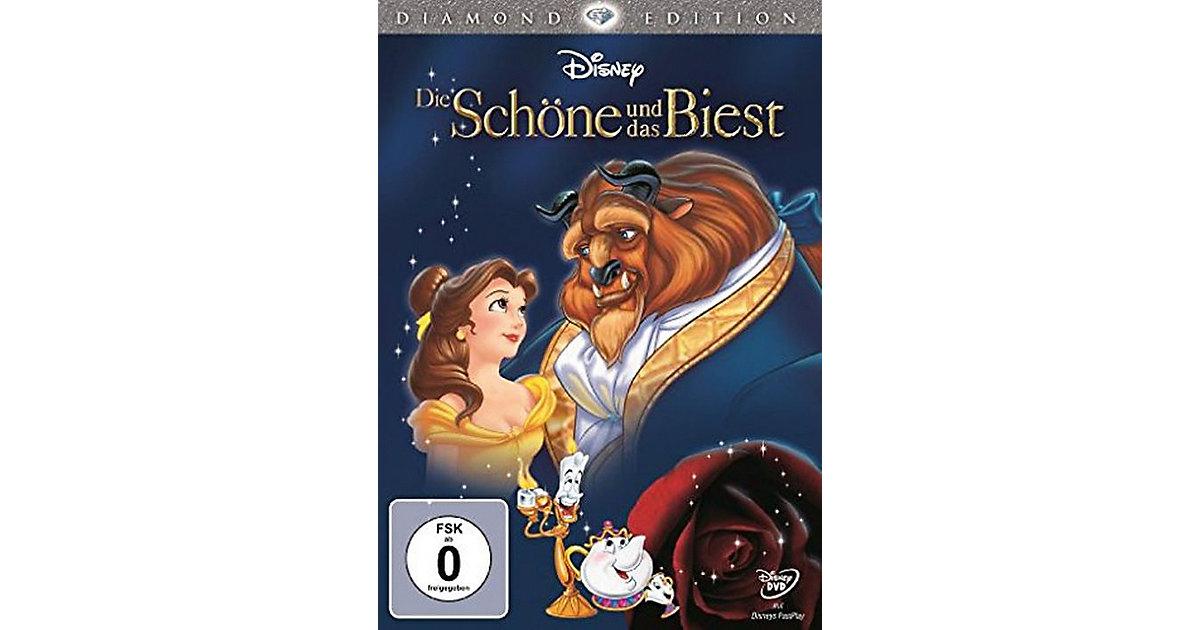 DVD Disney`s - Die Schöne und das Biest (Diamand Edition)