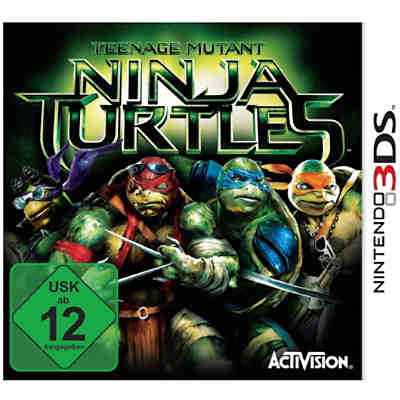 3DS Teenage Mutant Ninja Turtles - The Movie