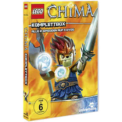 DVD LEGO Legends of Chima - Komplettbox