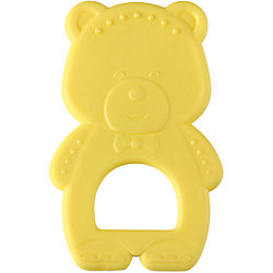 """Прорезыватель """"Мишка"""", Happy Baby, жёлтый"""
