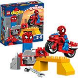 LEGO 10607 DUPLO: Spider-Man– Motorrad-Werkstatt