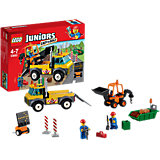 LEGO Juniors 10683: Ремонт дороги