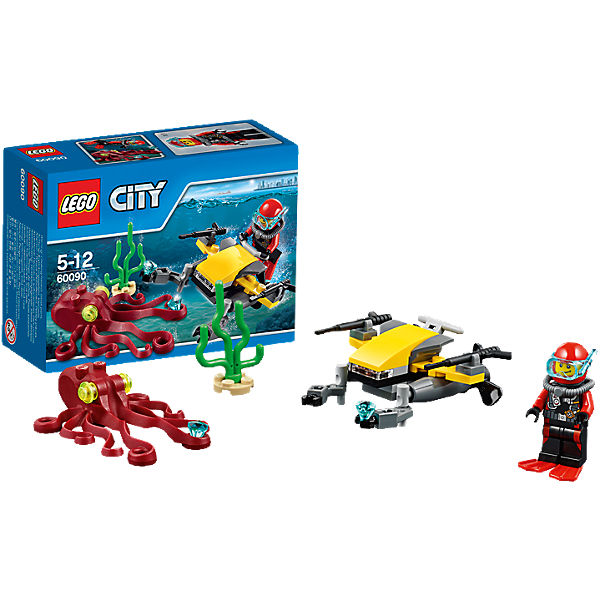LEGO 60090 City: Tiefsee-Tauchscooter