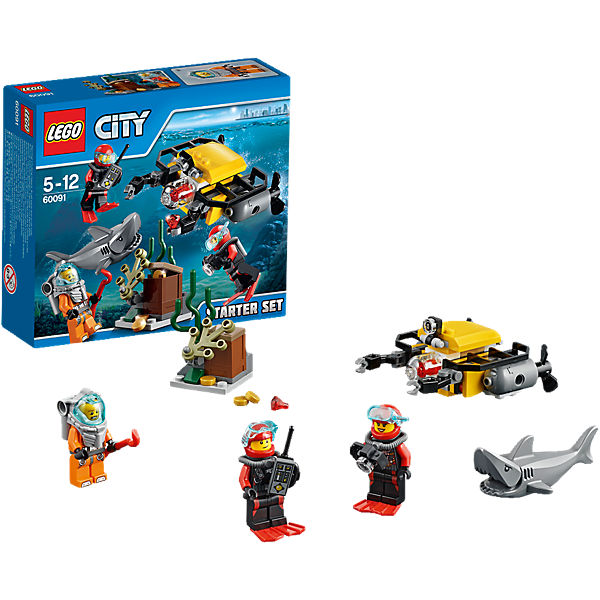LEGO 60091 City: Tiefsee Starter-Set