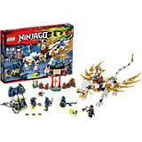 LEGO NINJAGO 70734: Дракон Сэнсэя Ву