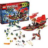 LEGO 70738 Ninjago: Der letzte Flug des Ninja-Flugseglers