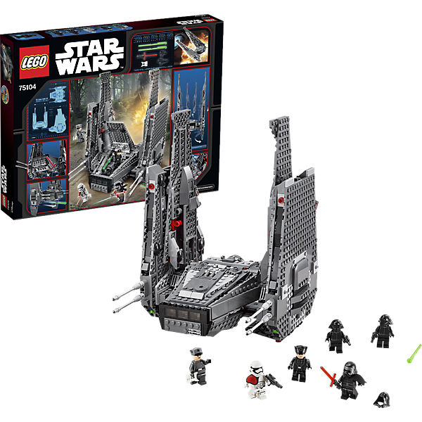 LEGO 75104 Star Wars: Kylo Rens Command Shuttle