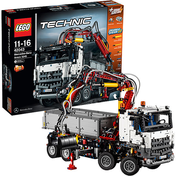 lego 42043 technic mercedes benz arocs 3245 lego technic. Black Bedroom Furniture Sets. Home Design Ideas