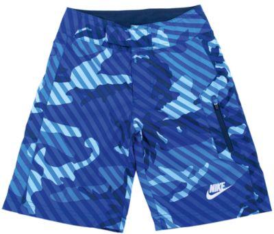 Плавательные шорты для мальчика CAMO W BOARD SHORT YTH NIKE - голубой