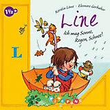 Line: Ich mag Sonne, Regen, Schnee!