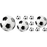 Wandsticker Fußball, 7-tlg.