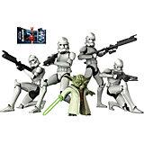 Wandsticker Star Wars, Yoda und Troopers, 67 x 47 cm