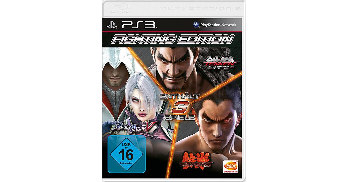 PS3 Fighting Edition (S. Calibur, Tekken 6, TTT2)
