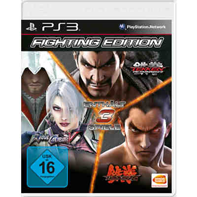 PS3 Fighting Edition (S. Calibur, Tekken 6, TTT2)