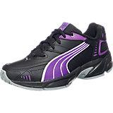 PUMA Sportschuhe für Kinder, schwarz/purple