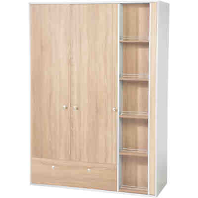 kleiderschrank natura 3 t rig buche vollmassiv ge lt pinolino mytoys. Black Bedroom Furniture Sets. Home Design Ideas