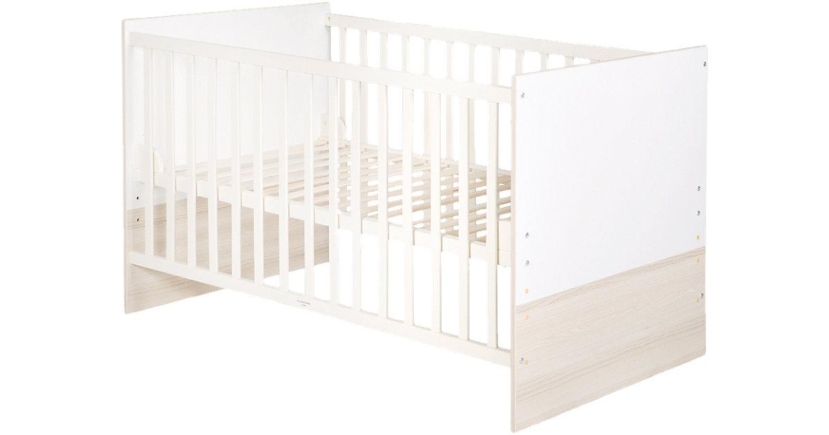 Kinderbett MARTINA, 70 x 140 cm weiß