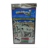 """Раскраска ColorUps с фломастерами """"Машина"""", маленькая, Savvi"""