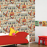 Bordüre, Mickey Mouse, vintage, 15,9 cm x 5 m