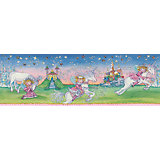 Bordüre Prinzessin Lillifee, Einhorn, 17 cm x 5 m