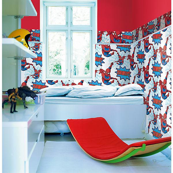 tapete spiderman 10 m x 53 cm spider man mytoys. Black Bedroom Furniture Sets. Home Design Ideas