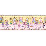 Bordüre Prinzessin Lillifee, Ballerina, 17 cm x 5 m