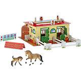 BULLYLAND Tierwelt - Reiterhof mit 2 Pferden