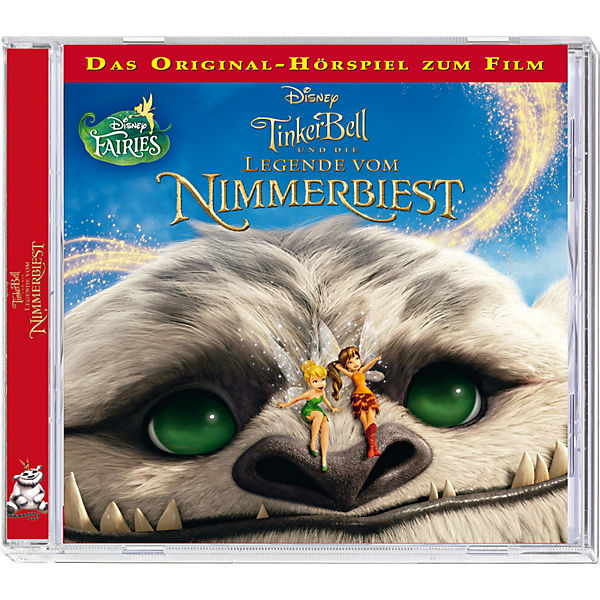 CD Disney Tinkerbell - Die Legende vom Nimmerbiest