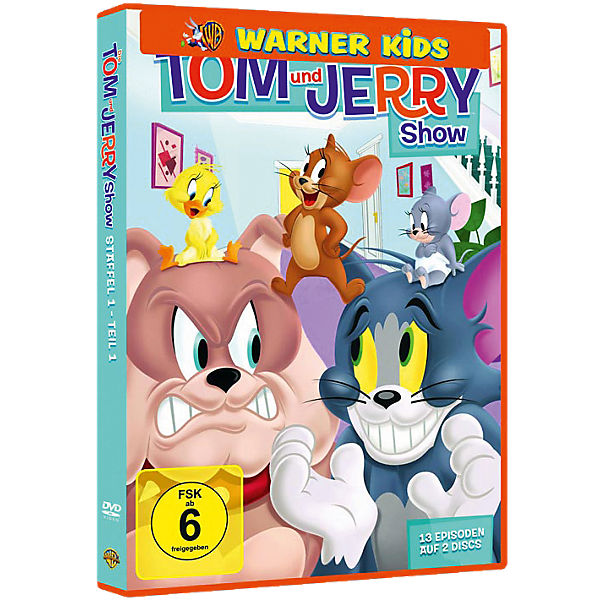 DVD Tom & Jerry Show - Staffel 1 (Teil 1)