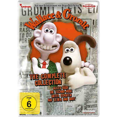 DVD Wallace & Gromit - Die komplette Collection